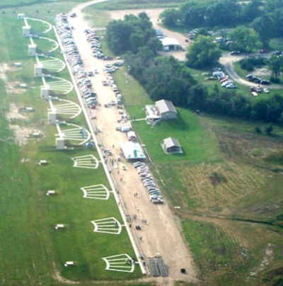 An Aerial View of HPSP's Trap and Skeet Fields